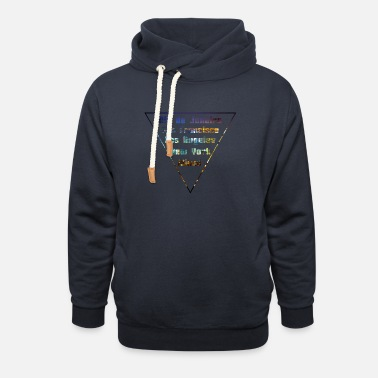 City Cities Big Citys - Unisex Shawl Collar Hoodie