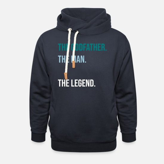 Godfather Hoodies & Sweatshirts - The Godfather - Unisex Shawl Collar Hoodie navy