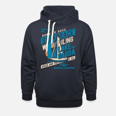 Garda Lakers Born To Race - Unisex Shawl Collar Hoodie