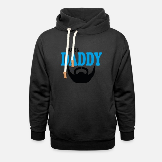 Gift Idea Hoodies & Sweatshirts - Best Father Bearded Father - Unisex Shawl Collar Hoodie black
