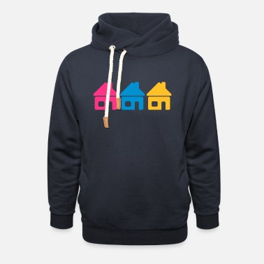 Neighborhood Neighborhood - Unisex Shawl Collar Hoodie
