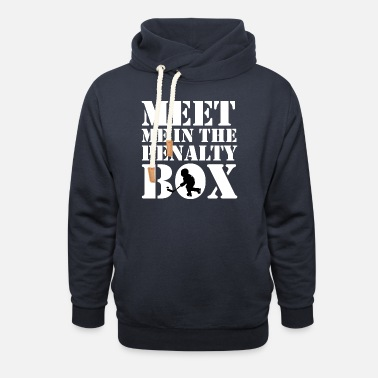 Penalty Penalty box - Unisex Shawl Collar Hoodie