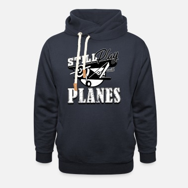 Airplane model airplane - Unisex Shawl Collar Hoodie