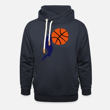 Continous Current Basketball - Unisex Shawl Collar Hoodie