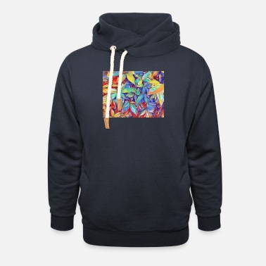 Leaves Leaves - Unisex Shawl Collar Hoodie