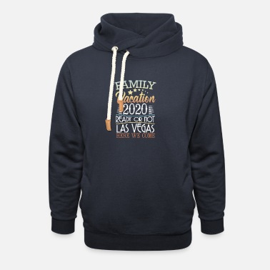 Made In Usa Las Vegas Family Vacation 2020 USA America trip - Unisex Shawl Collar Hoodie