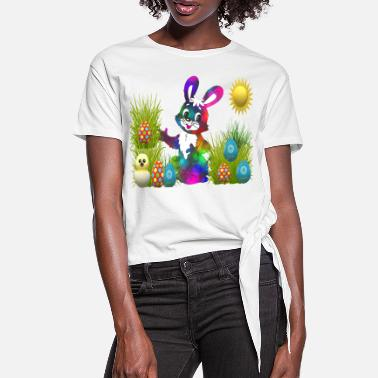 Quit Easter Gift Idea - Women's Knotted T-Shirt