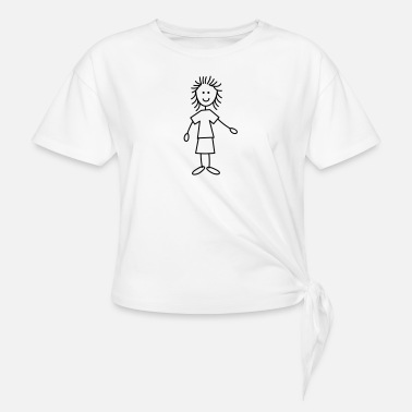 Woman Woman - Knotted T-Shirt