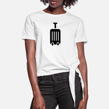 Suitcase Suitcase - Women's Knotted T-Shirt