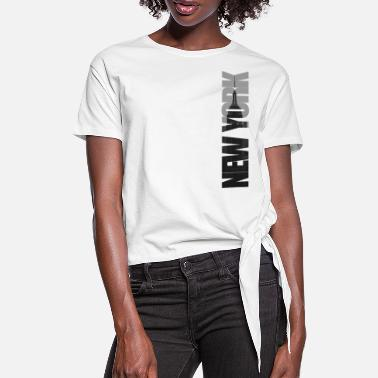 New York City Mercury - Women's Knotted T-Shirt