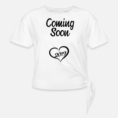 Mujer Mujer Mam/á 2021 Camiseta de carga Anuncio de embarazo Camiseta