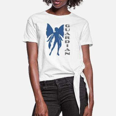 Guardian Guardian in a fairy - guardian in a fairy - Women's Knotted T-Shirt