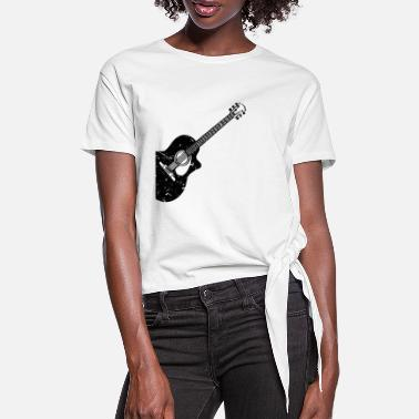 Acoustic Guitar Acoustic guitar Acoustic guitars - Women's Knotted T-Shirt