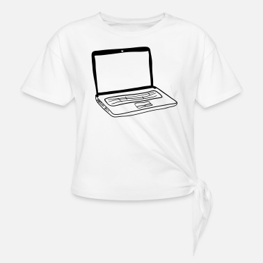 Laptop Laptop - Knotted T-Shirt
