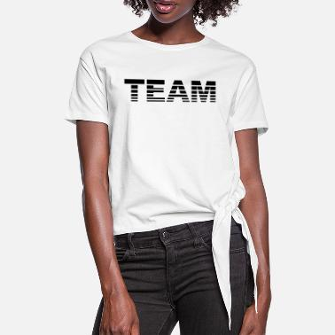 Team Team - Dame knot-shirt