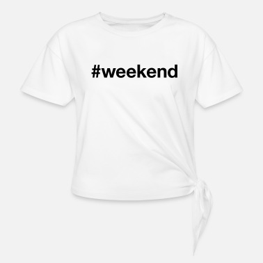 Weekend WEEKEND - T-shirt à nœud