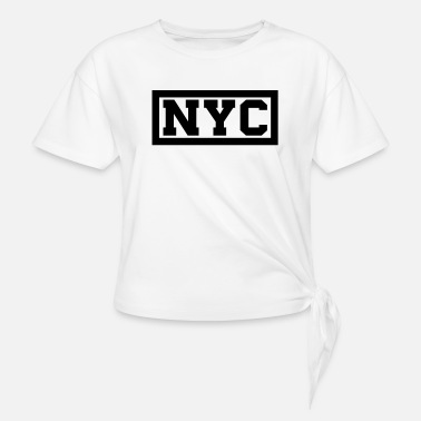 Nyc NYC - Knotted T-Shirt