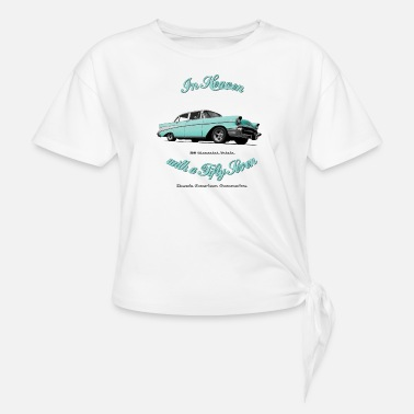 Chevrolet 57 Chevy Belair - Knotted T-Shirt