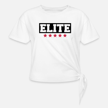 Elite Elite - Knotted T-Shirt