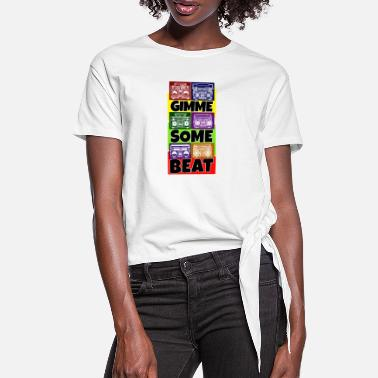 Deejay Hip Hop Beat Deutschrap Breakdance DJ Graffiti MC - Vrouwen Geknoopt shirt