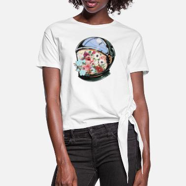 Bloom In Bloom - Women's Knotted T-Shirt