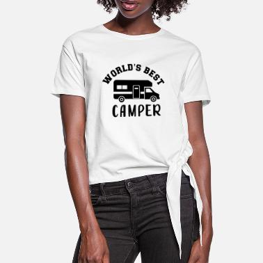 Camper - Women's Knotted T-Shirt