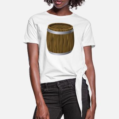 Barrel barrel - Women's Knotted T-Shirt