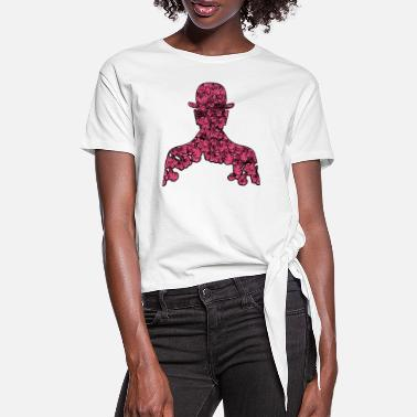 Fruit Fourth Son of Man - Women's Knotted T-Shirt