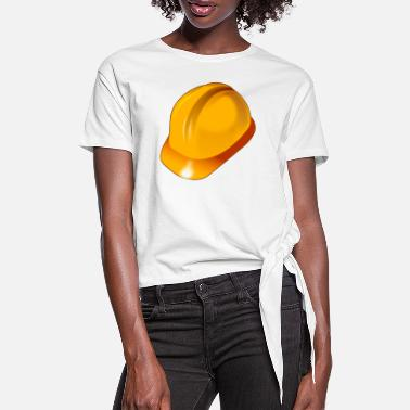 Safety Helmet safety helmet - Women's Knotted T-Shirt