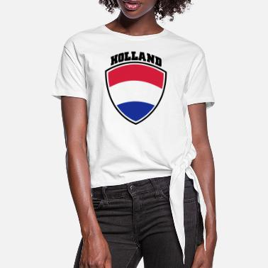 Holland holland - Women's Knotted T-Shirt