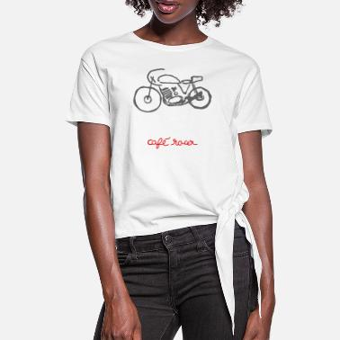 Second Hand racer - Women's Knotted T-Shirt