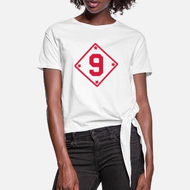 9 *** 9 *** - Women's Knotted T-Shirt