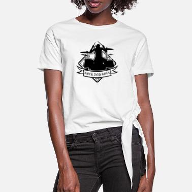 Rock And Roll Rock and roll - Dame knot-shirt