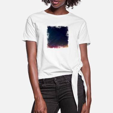 Night Sky night sky - Women's Knotted T-Shirt