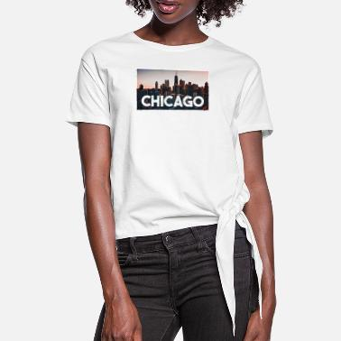 Chicago Chicago - Dame knot-shirt