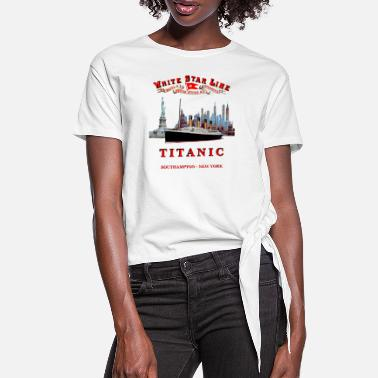 Titanic TITANIC NEW YORK - Women's Knotted T-Shirt