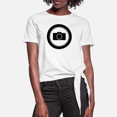 Digital Camera Camera / / digital camera / / Camera / / Photo - Women's Knotted T-Shirt