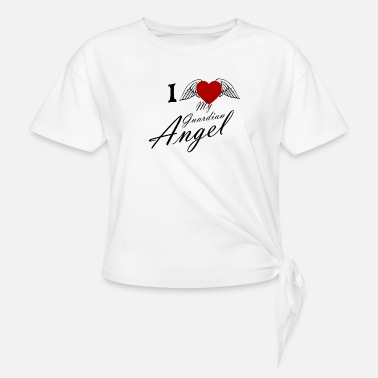 Angel I love Guardian Angel - Knotted T-Shirt