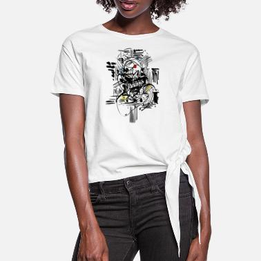 India Ink Samurai Ink - Women's Knotted T-Shirt