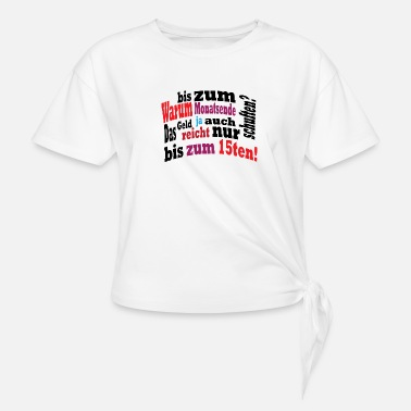 Salary salary - Knotted T-Shirt