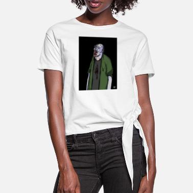 ZOMBIE - Women's Knotted T-Shirt