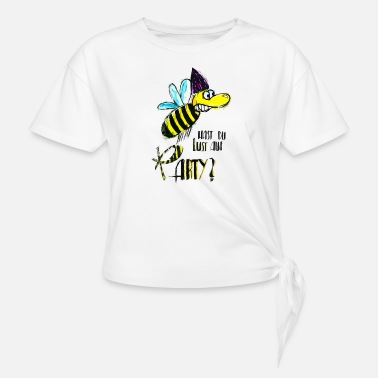 Party Bee - Knotted T-Shirt