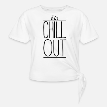 Chill Out Chill Out - T-shirt à nœud