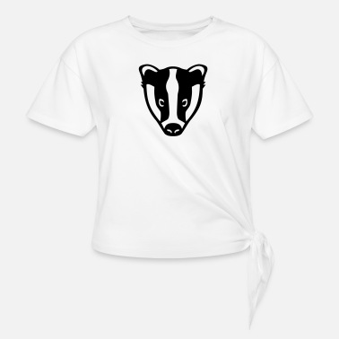 Badgers Badger - Knotted T-Shirt