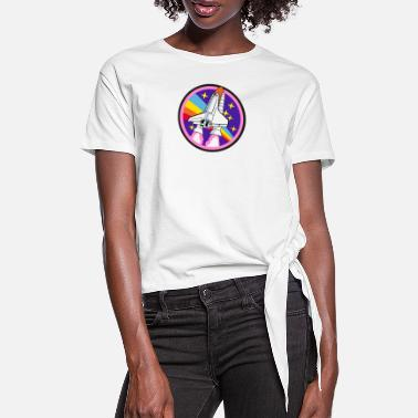 Space Shuttle Space Shuttle - Women's Knotted T-Shirt