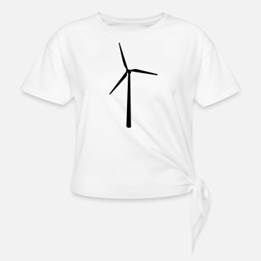 Sustainable sustainable - Knotted T-Shirt