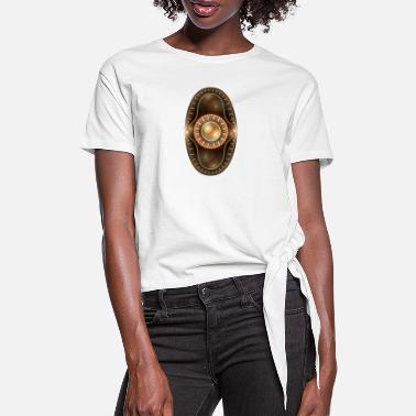 Apophysis apophysis oval pearl - Women's Knotted T-Shirt