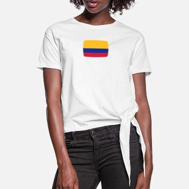 Colombia Flag Colombia flag Colombia flag Colombia Columbian - Knotted T-Shirt
