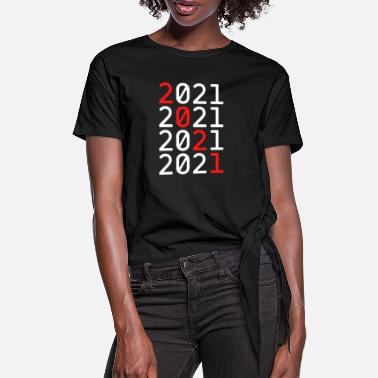 2021 2021 - Women's Knotted T-Shirt