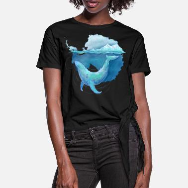 Hval Southern Ocean Whale Sanctuary - Dame knot-shirt